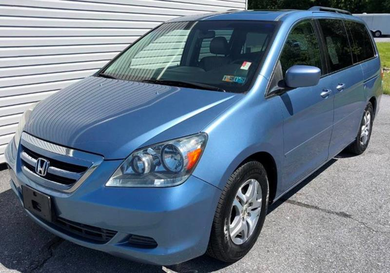 Nice 2006 Honda Odyssey For Sale At The Back Lot In Lebanon PA