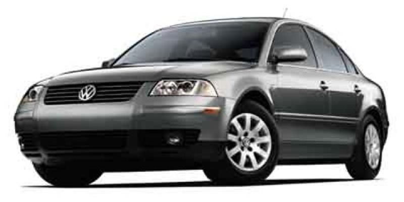 2002 Volkswagen Passat For Sale At The Back Lot In Lebanon PA