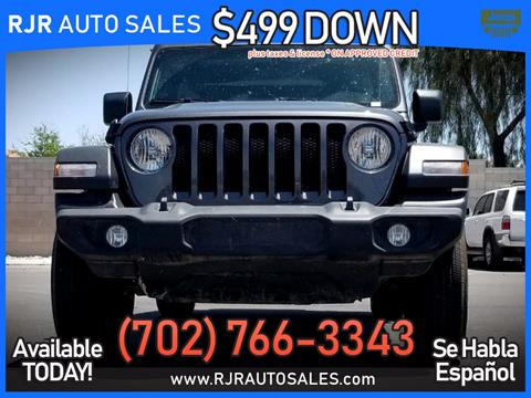 2019 Jeep Wrangler Unlimited for sale in Las Vegas, NV