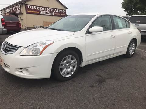 2012 Nissan Altima for sale at Discount Auto in Langhorne PA