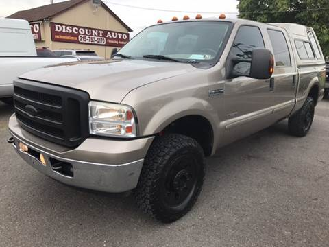 2006 Ford F-250 Super Duty for sale at Discount Auto in Langhorne PA