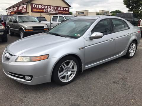 2008 Acura TL for sale at Discount Auto in Langhorne PA