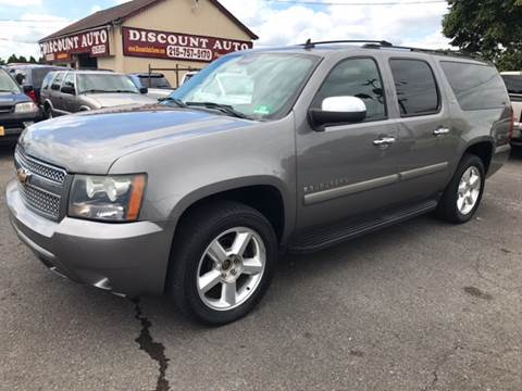 2007 Chevrolet Suburban for sale at Discount Auto in Langhorne PA