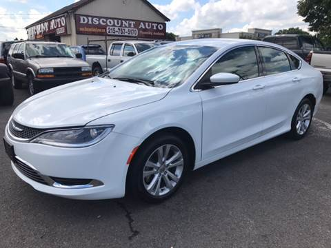 2015 Chrysler 200 for sale at Discount Auto in Langhorne PA