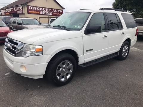 2008 Ford Expedition for sale at Discount Auto in Langhorne PA