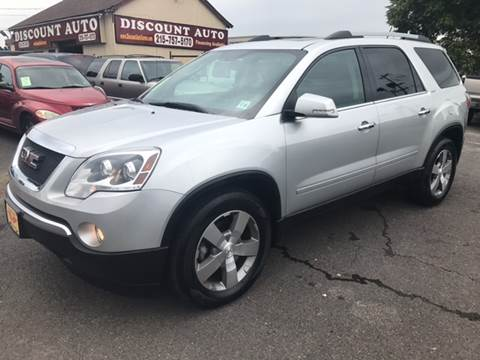 2012 GMC Acadia for sale at Discount Auto in Langhorne PA