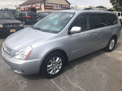 2010 Kia Sedona for sale at Discount Auto in Langhorne PA