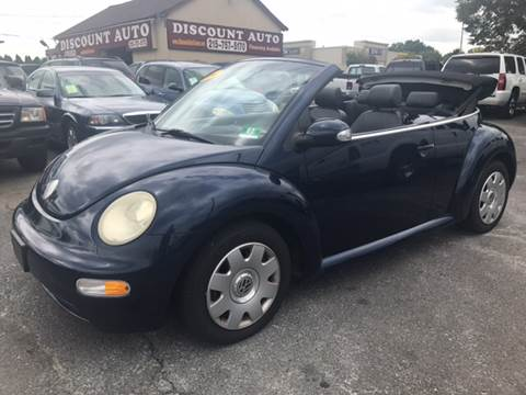 2004 Volkswagen New Beetle for sale at Discount Auto in Langhorne PA
