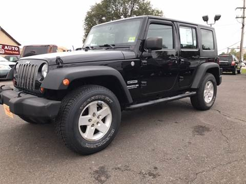 2010 Jeep Wrangler Unlimited for sale in Langhorne, PA