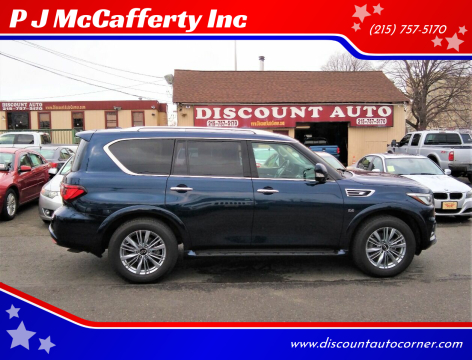 2019 Infiniti QX80 for sale at P J McCafferty Inc in Langhorne PA