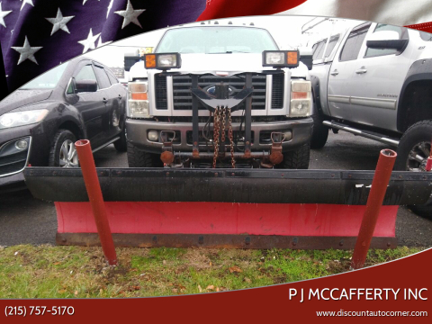 2008 Ford F-250 Super Duty for sale at P J McCafferty Inc in Langhorne PA