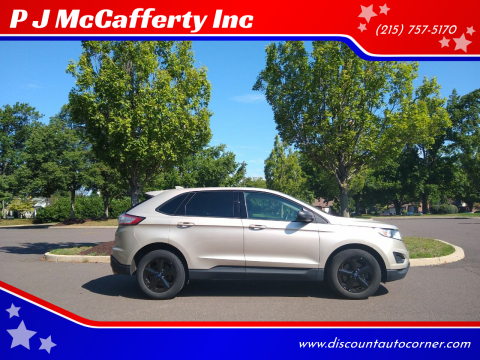 2017 Ford Edge for sale at P J McCafferty Inc in Langhorne PA