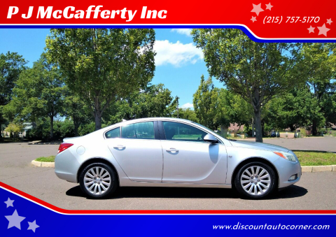 2011 Buick Regal for sale at P J McCafferty Inc in Langhorne PA