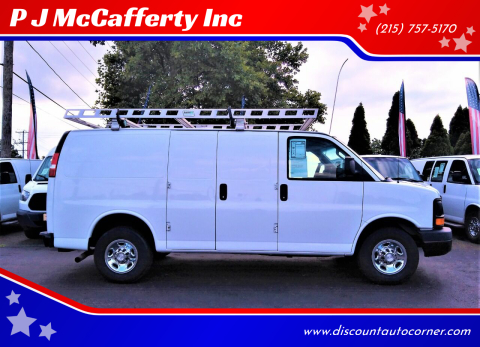 2016 Chevrolet Express Cargo for sale at P J McCafferty Inc in Langhorne PA