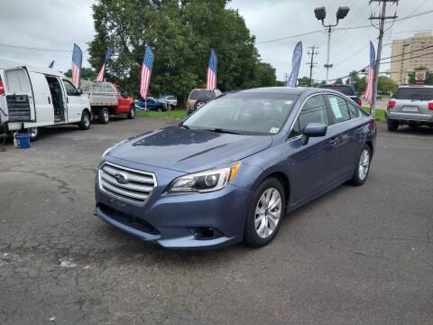 2016 Subaru Legacy for sale at P J McCafferty Inc in Langhorne PA