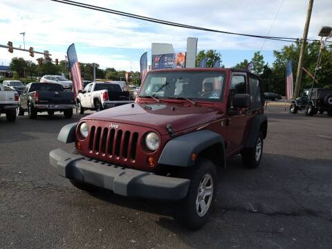 2008 Jeep Wrangler for sale at P J McCafferty Inc in Langhorne PA