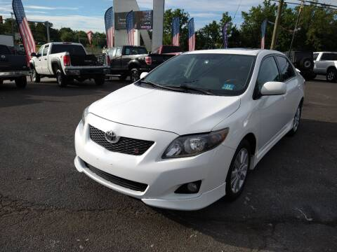 2010 Toyota Corolla for sale at P J McCafferty Inc in Langhorne PA