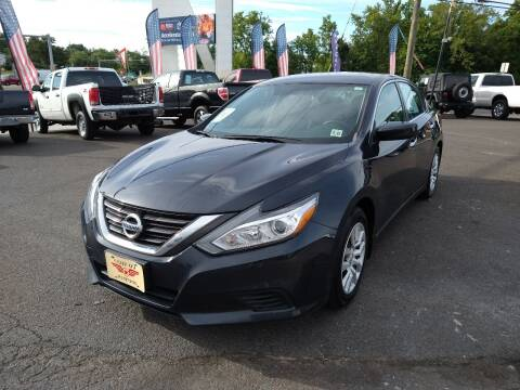 2016 Nissan Altima for sale at P J McCafferty Inc in Langhorne PA