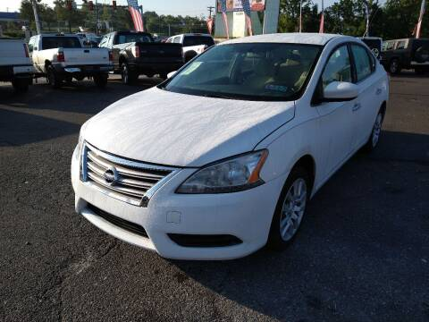 2013 Nissan Sentra for sale at P J McCafferty Inc in Langhorne PA