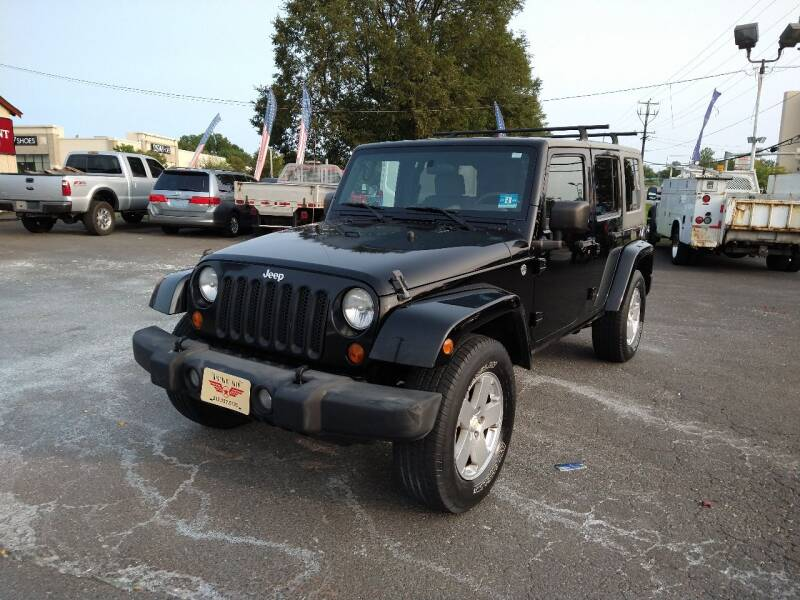 2007 Jeep Wrangler Unlimited for sale at P J McCafferty Inc in Langhorne PA