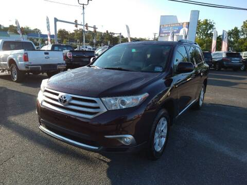 2011 Toyota Highlander for sale at P J McCafferty Inc in Langhorne PA