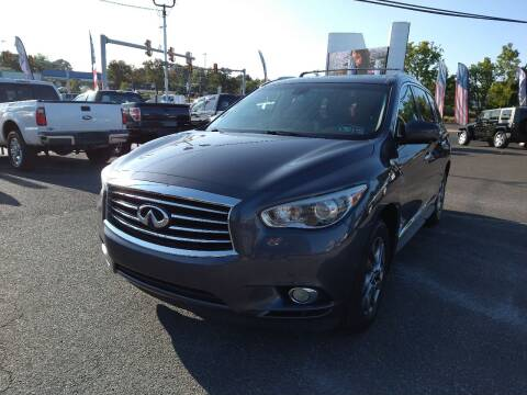 2014 Infiniti QX60 for sale at P J McCafferty Inc in Langhorne PA