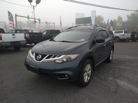 2012 Nissan Murano for sale at P J McCafferty Inc in Langhorne PA