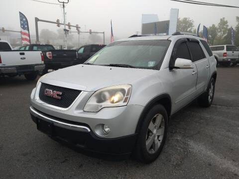 2012 GMC Acadia for sale at P J McCafferty Inc in Langhorne PA