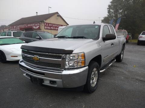 2013 Chevrolet Silverado 1500 for sale at P J McCafferty Inc in Langhorne PA