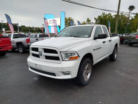 2012 RAM Ram Pickup 1500 for sale at P J McCafferty Inc in Langhorne PA