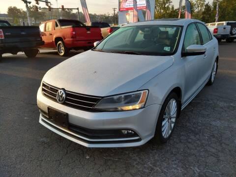 2016 Volkswagen Jetta for sale at P J McCafferty Inc in Langhorne PA