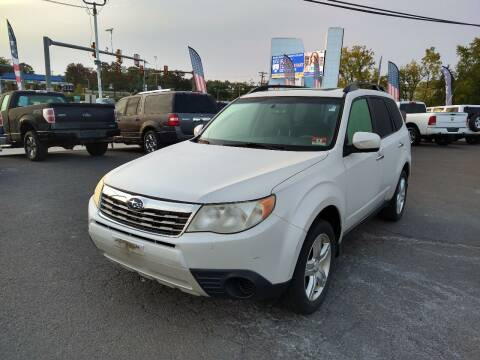 2010 Subaru Forester for sale at P J McCafferty Inc in Langhorne PA