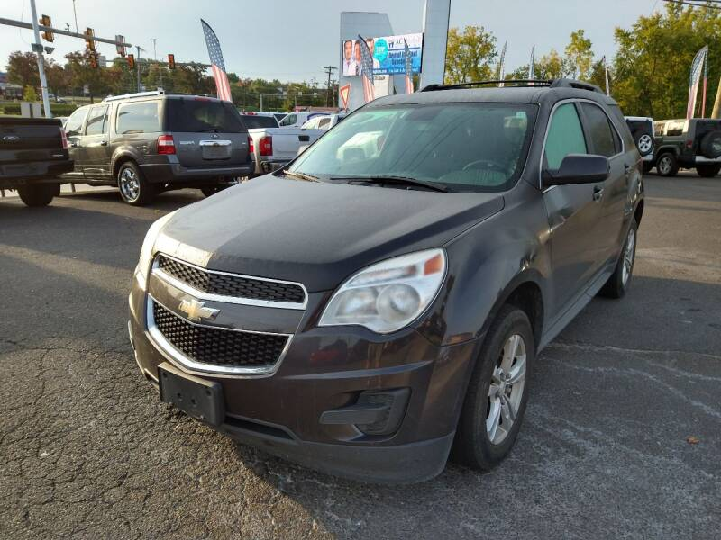 2013 Chevrolet Equinox for sale at P J McCafferty Inc in Langhorne PA