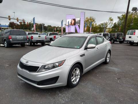 2011 Kia Optima for sale at P J McCafferty Inc in Langhorne PA