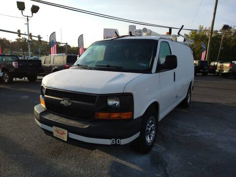 2011 Chevrolet Express Cargo for sale at P J McCafferty Inc in Langhorne PA