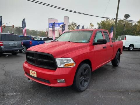 2012 RAM Ram Pickup 1500 for sale at P J McCafferty Inc in Langhorne PA