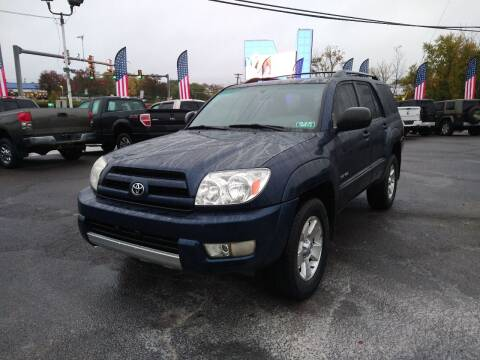 2003 Toyota 4Runner for sale at P J McCafferty Inc in Langhorne PA