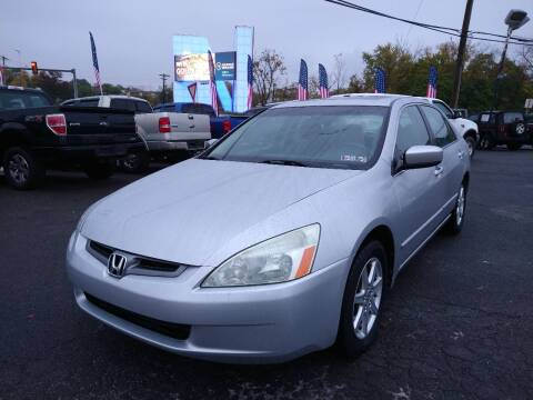 2004 Honda Accord for sale at P J McCafferty Inc in Langhorne PA