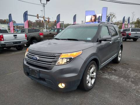 2012 Ford Explorer for sale at P J McCafferty Inc in Langhorne PA