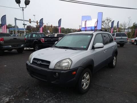 2007 Hyundai Tucson for sale at P J McCafferty Inc in Langhorne PA