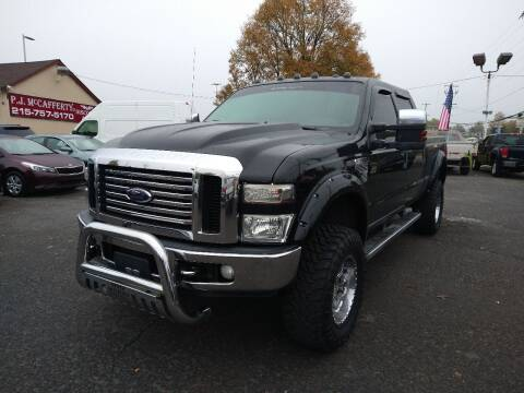 2009 Ford F-250 Super Duty for sale at P J McCafferty Inc in Langhorne PA