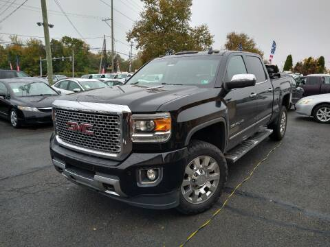 2015 GMC Sierra 2500HD for sale at P J McCafferty Inc in Langhorne PA