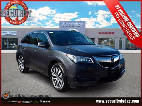 2016 Acura MDX for sale in Amityville, NY