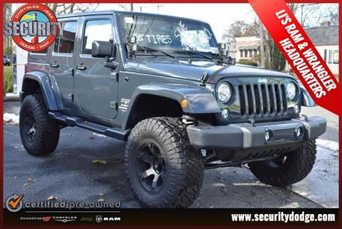 2018 Jeep Wrangler Unlimited for sale in Amityville, NY