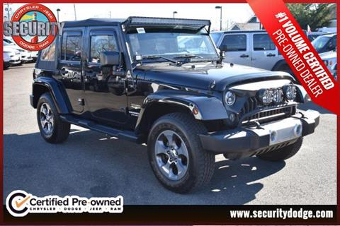 2014 Jeep Wrangler Unlimited for sale in Amityville, NY