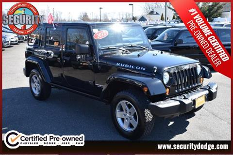 2012 Jeep Wrangler Unlimited for sale in Amityville, NY