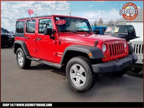 2011 Jeep Wrangler Unlimited for sale in Amityville, NY