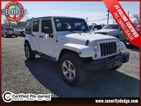 2013 Jeep Wrangler Unlimited for sale in Amityville, NY