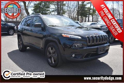 2016 Jeep Cherokee for sale in Amityville, NY