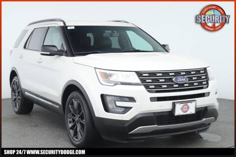 2016 Ford Explorer XLT for sale at Security Dodge in Amityville NY
